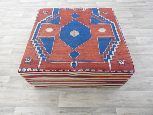 Persian Kilim Rug Ottoman-Foot Stool-Rugs Direct