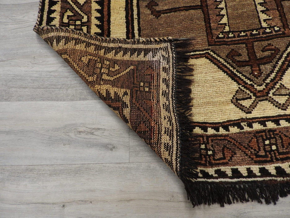 Persian Hand Knotted Qashqai Rug Size: 126 x 212cm-Persian Rug-Rugs Direct