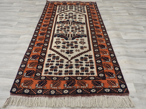 HAND KNOTTED TURKISH RUG SIZE: 200cm x 110cm