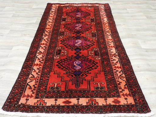 Persian Hand Knotted Baluchi Rug Size: 195 x 105cm