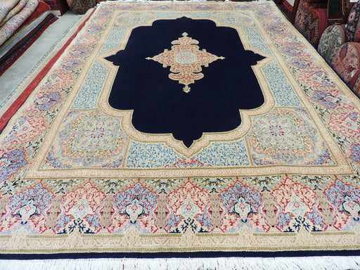 Persian Hand Knotted Kerman Rug Size: 388 x 278cm