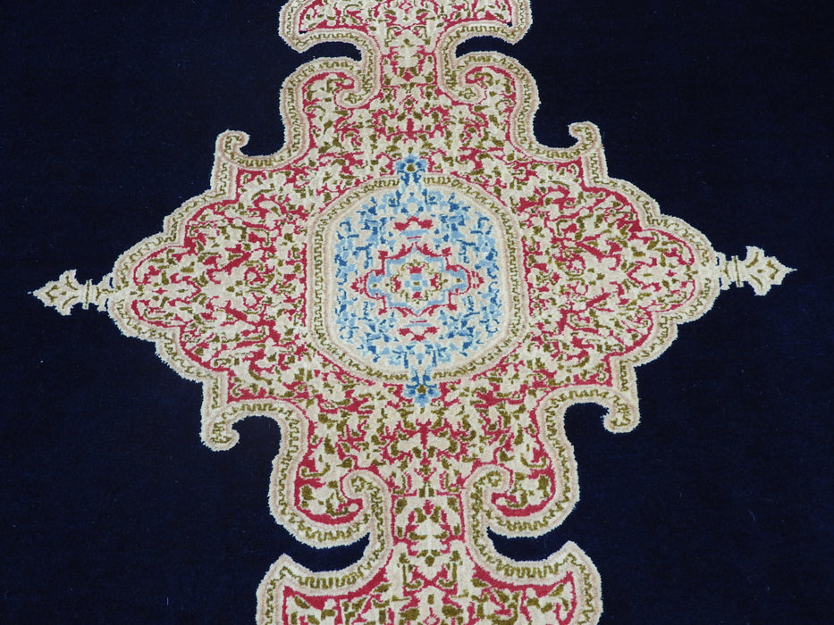 Persian Hand Knotted Kerman Rug Size: 388 x 278cm-Kerman Rug-Rugs Direct