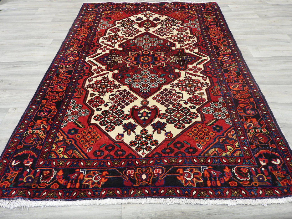 Persian Hand Knotted Saveh Rug Size: 216 x 143cm-Persian Rug-Rugs Direct