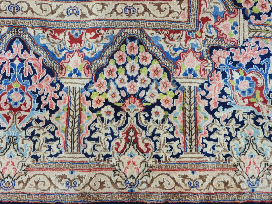Persian Hand Knotted Kerman Rug Size: 440 x 300cm-Kerman Rug-Rugs Direct