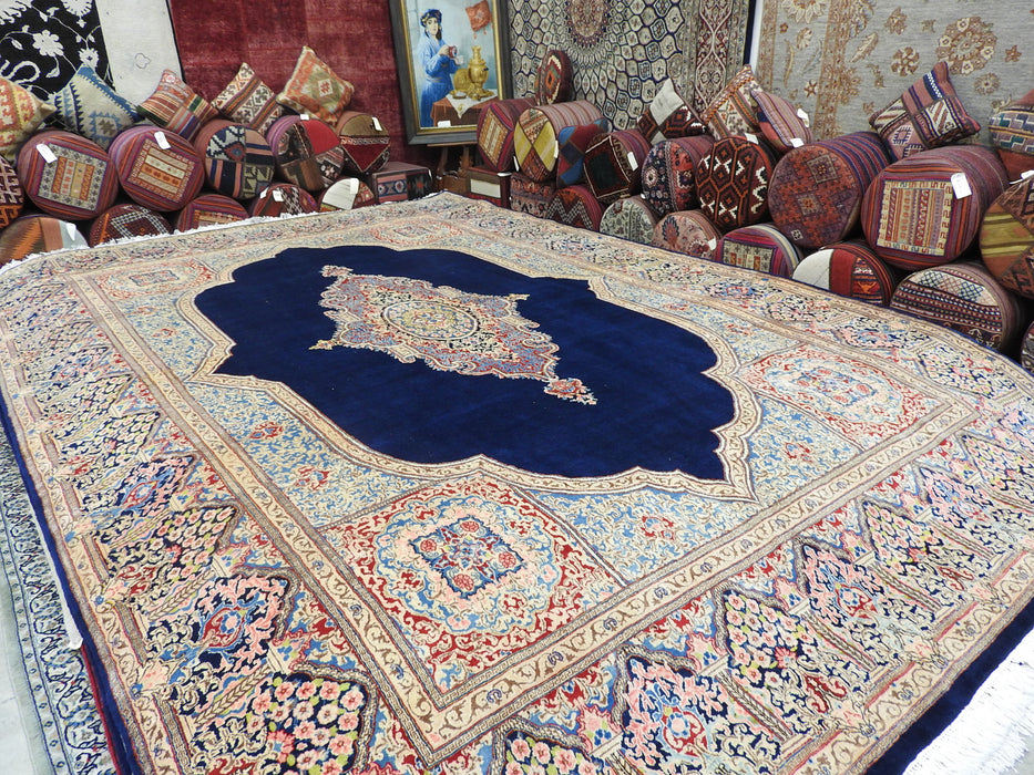 Persian Hand Knotted Kerman Rug Size: 440 x 300cm