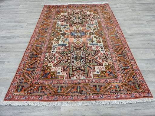 Persian Hand Knotted Ardabil Rug Size: 200 x 134cm-Persian Rug-Rugs Direct