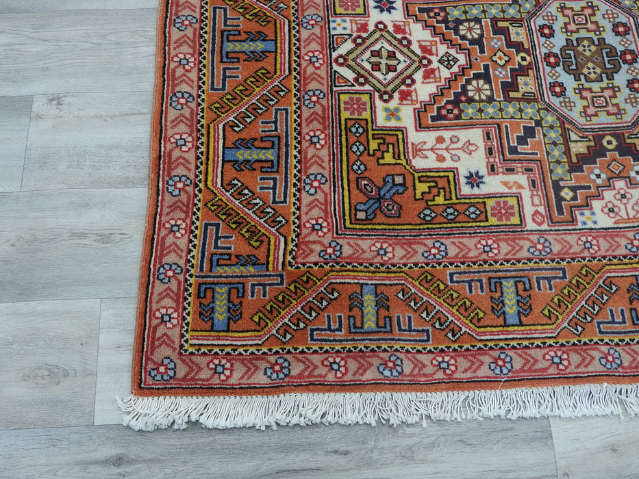 Persian Hand Knotted Ardabil Rug Size: 200 x 134cm