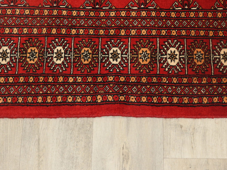 Silky Hand Made Bukhara Rug Size: 168 x 250cm-Bokhara Runner-Rugs Direct