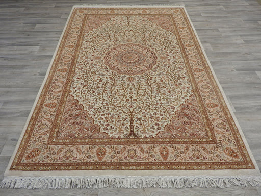 Persian Hand Made Silk Rug Size: 247cm x 169cm