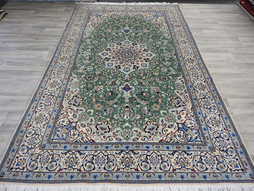 Persian Hand Knotted Nain Rug Size: 263 x 160cm
