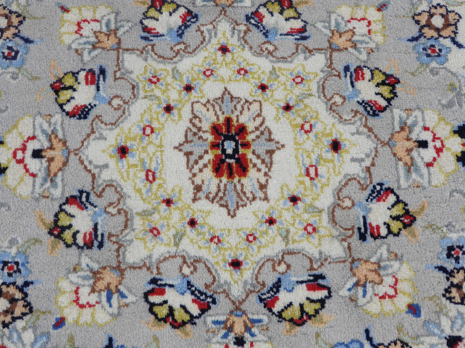 Persian Hand Knotted Kashan Rug Size: 295 x 202cm-Kashan Rug-Rugs Direct