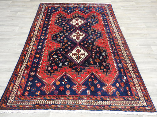Persian Hand Knotted Sirjan Rug Size: 238 x 170cm-Bukhara Rug-Rugs Direct