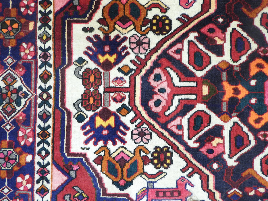 Persian Hand Knotted Bakhtiari Rug Size: 300 x 195cm-Persian Rug-Rugs Direct
