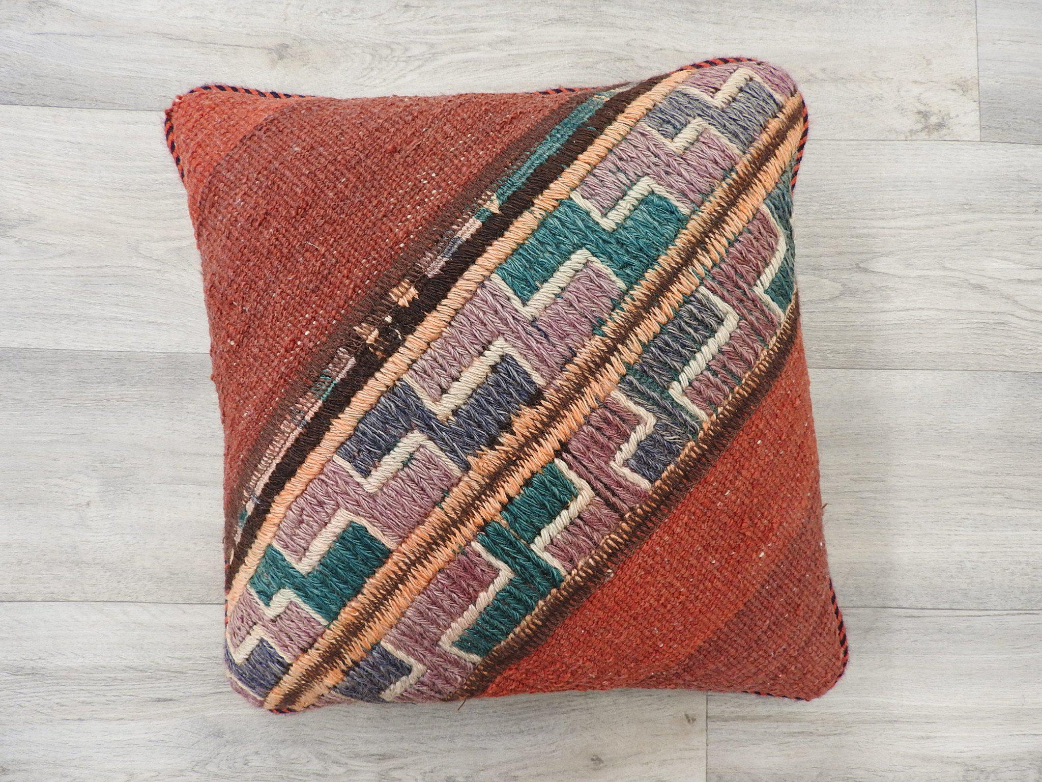 Persian Kilim Rug Cushion
