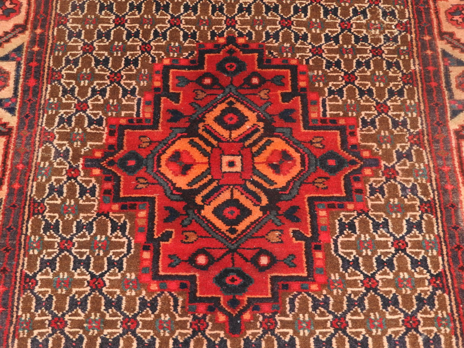Persian Hand Made Koliai Runner Size: 296 x 100cm