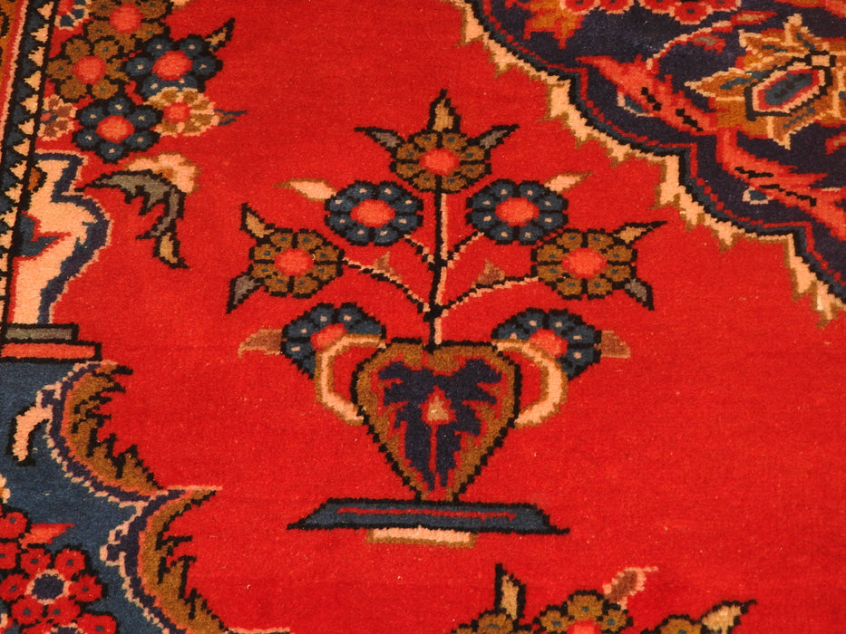 Persian Hand Knotted Vist Rug Size: 212 x 165cm-Persian Rug-Rugs Direct