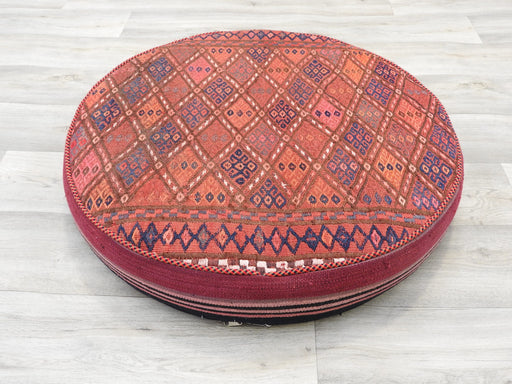 Large Persian Kilim Floor Cushion-Cushions-Rugs Direct