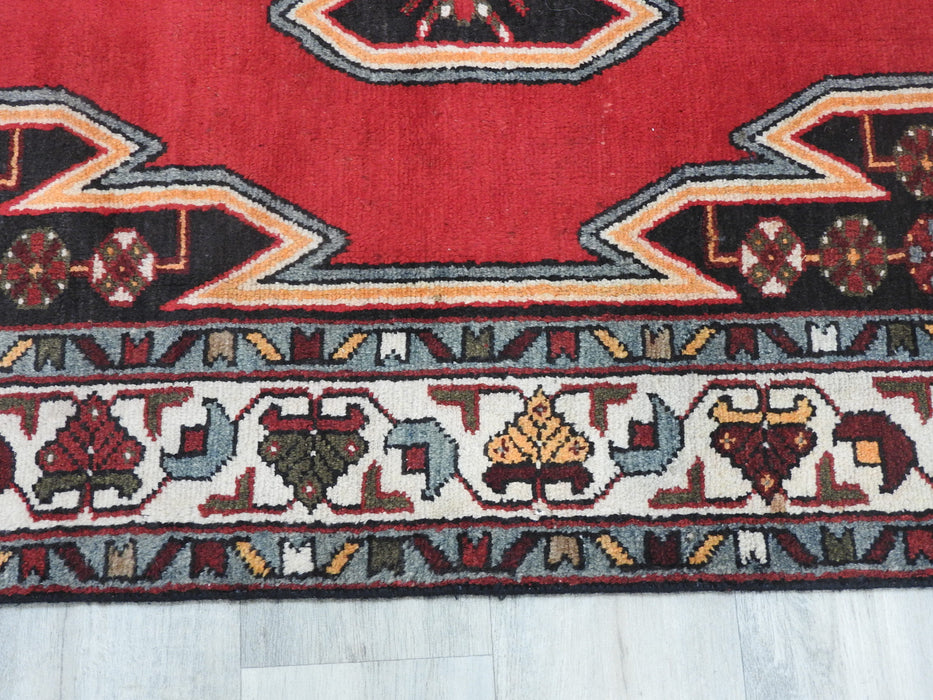 Persian Hand Knotted Mazlaqhan Rug Size: 202cm x 125cm-Persian Rug-Rugs Direct