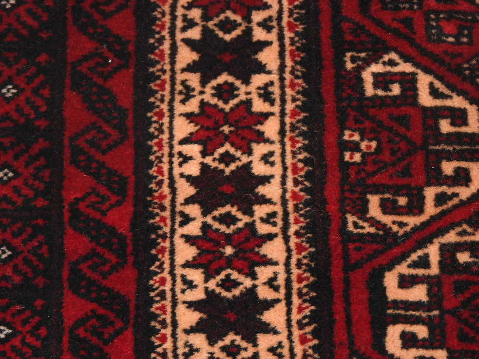 Persian Hand Knotted Baluchi Rug Size: 208 x 105cm-Persian Rug-Rugs Direct