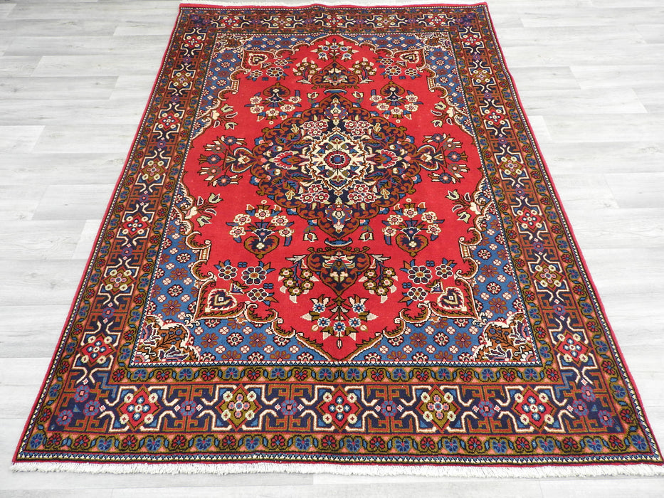 Persian Hand Knotted Vist Rug Size: 222 x 158cm