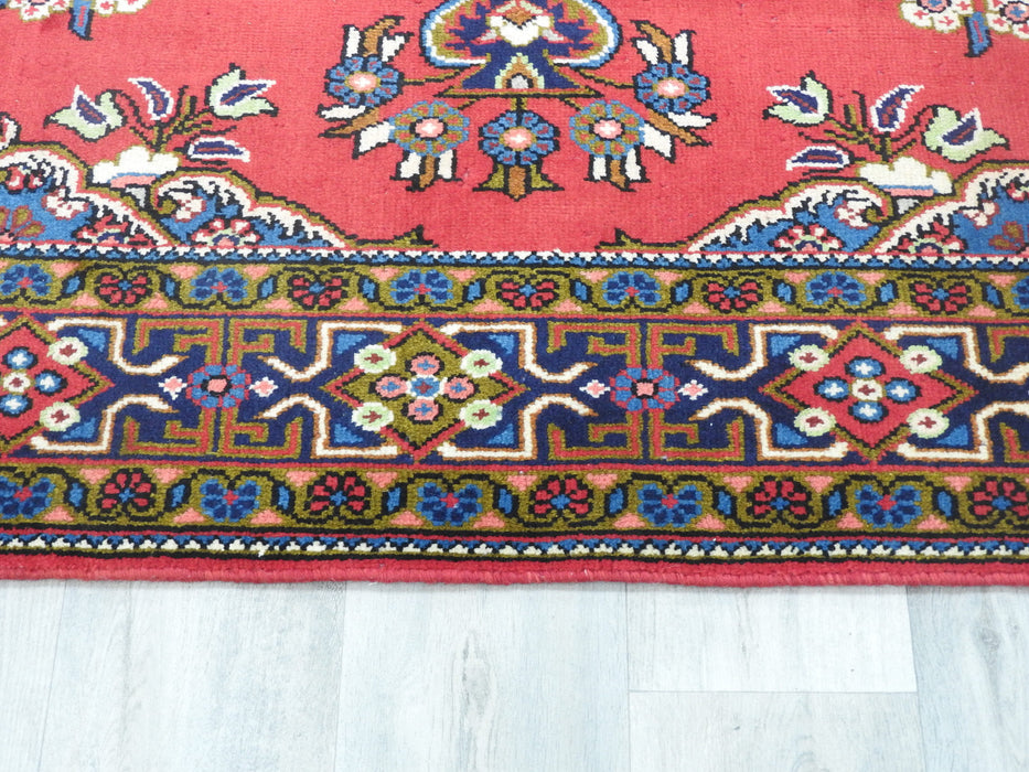Persian Hand Knotted Vist Rug Size: 222 x 158cm-Persian Rug-Rugs Direct