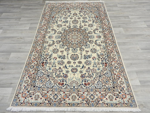 Persian Hand Knotted Nain Rug Size: 211 x 127cm-Persian Rug-Rugs Direct