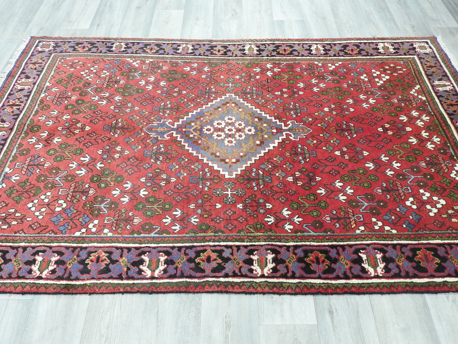 Persian Hand Knotted Josheghan Rug Size: 215 x132cm