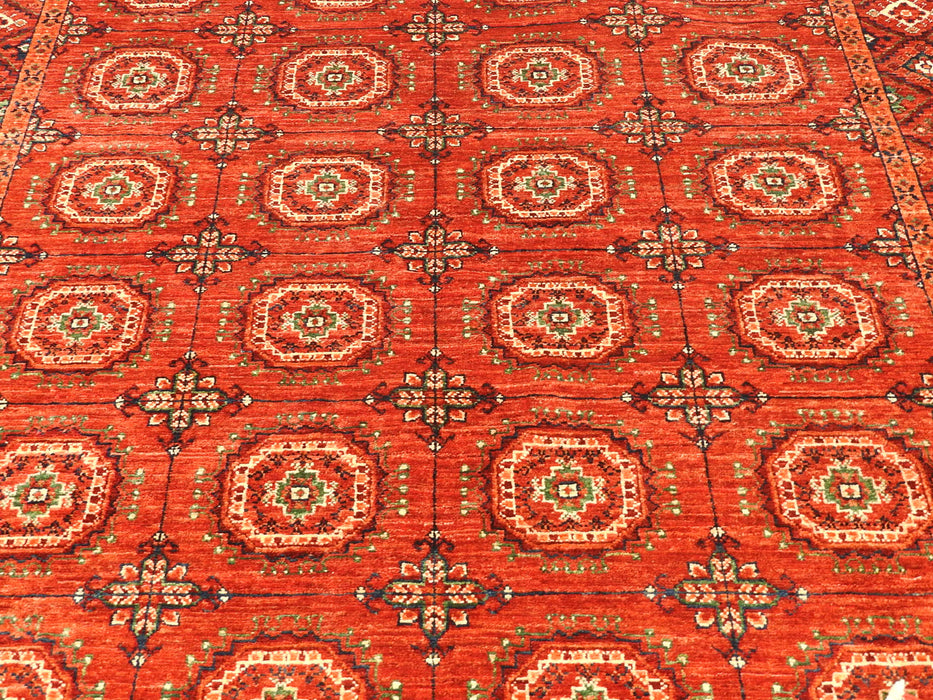 Afghan Hand Knotted Choubi Rug Size: 239 x 167cm