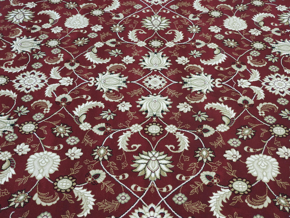 Traditional Floral Design Turkish Rug