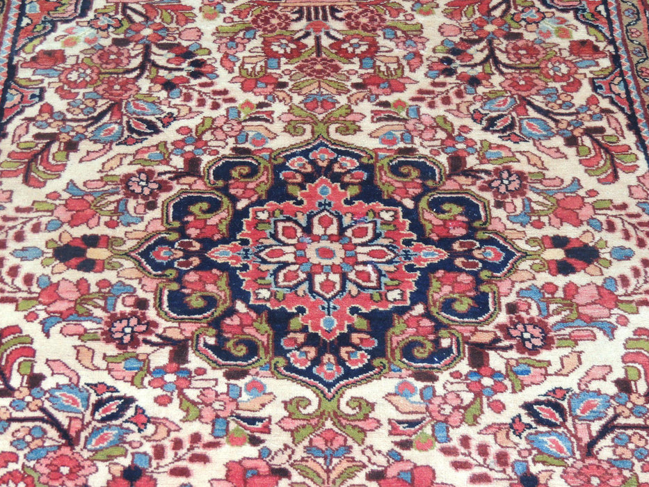 Persian Hand Knotted Burjlo Rug Size: 213 x 154cm-Physical-Rugs Direct