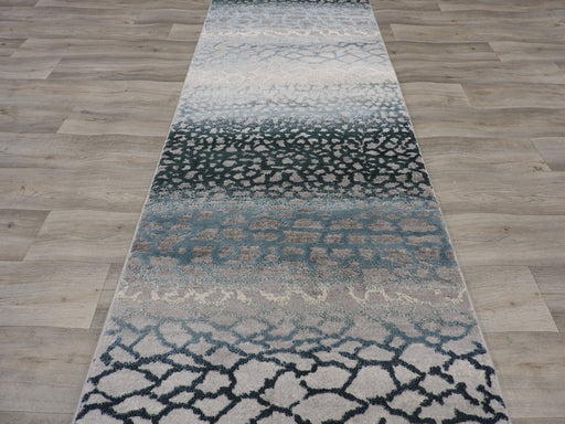 Modern Erased Turkish Hallway Runner Size: 80 x Cut to Order?!-Hallway Runner-Rugs Direct