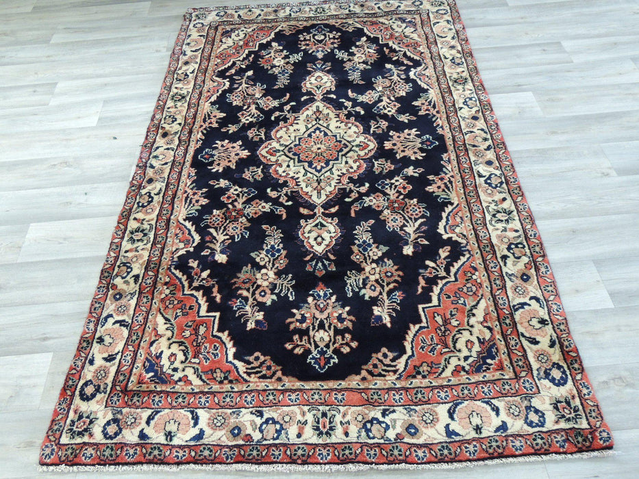 Persian Hand Knotted Hamedan Rug Size: 217 x 124cm