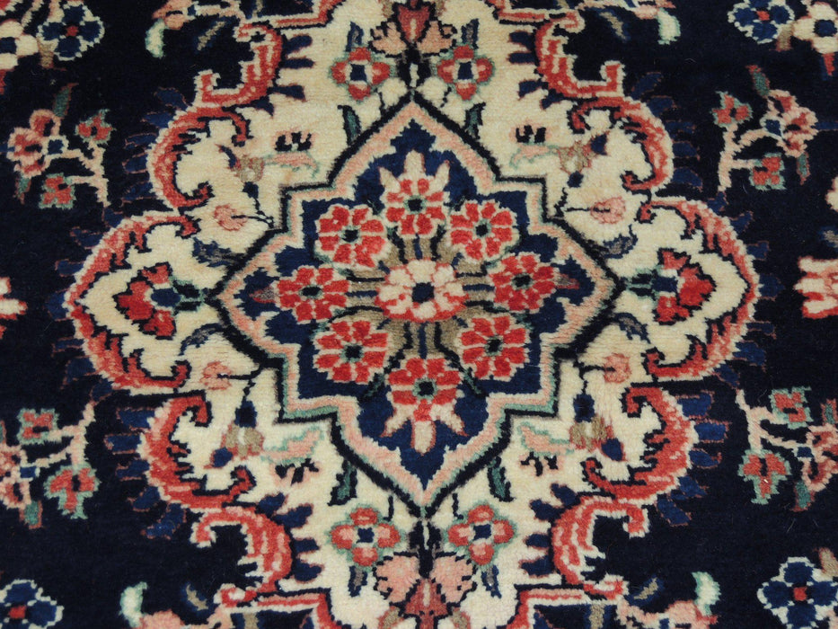 Persian Hand Knotted Hamedan Rug Size: 217 x 124cm-Physical-Rugs Direct