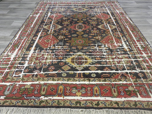 NZ Wool & Bamboo Silk Hand Knotted Rug Size: 320 x 241cm-Bamboo Silk-Rugs Direct