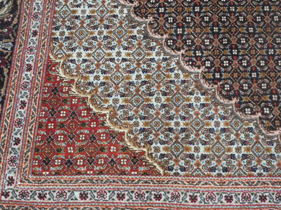 "Persian Hand Knotted ""Mahi Design"" Tabriz Rug Size: 297 x 195cm-Persian Rug-Rugs Direct"