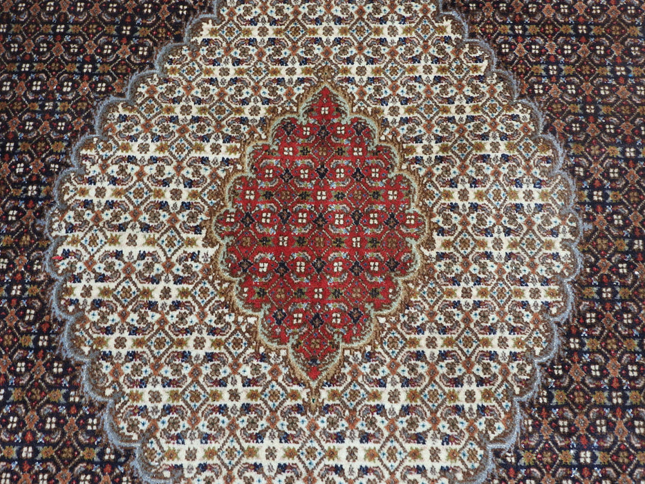 "Persian Hand Knotted ""Mahi Design"" Tabriz Rug Size: 297 x 196cm-Persian Rug-Rugs Direct"