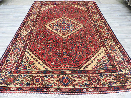 Persian Hand Knotted Hossein Abad Rug Size: 320 x 220cm-Persian Rug-Rugs Direct