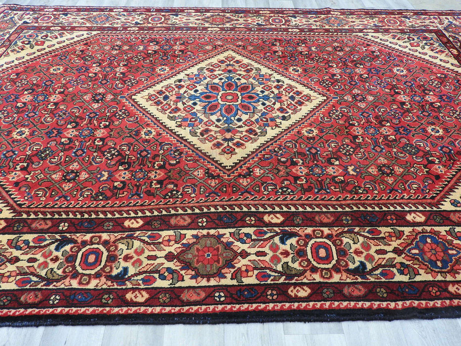 Persian Hand Knotted Hossein Abad Rug Size: 320 x 220cm