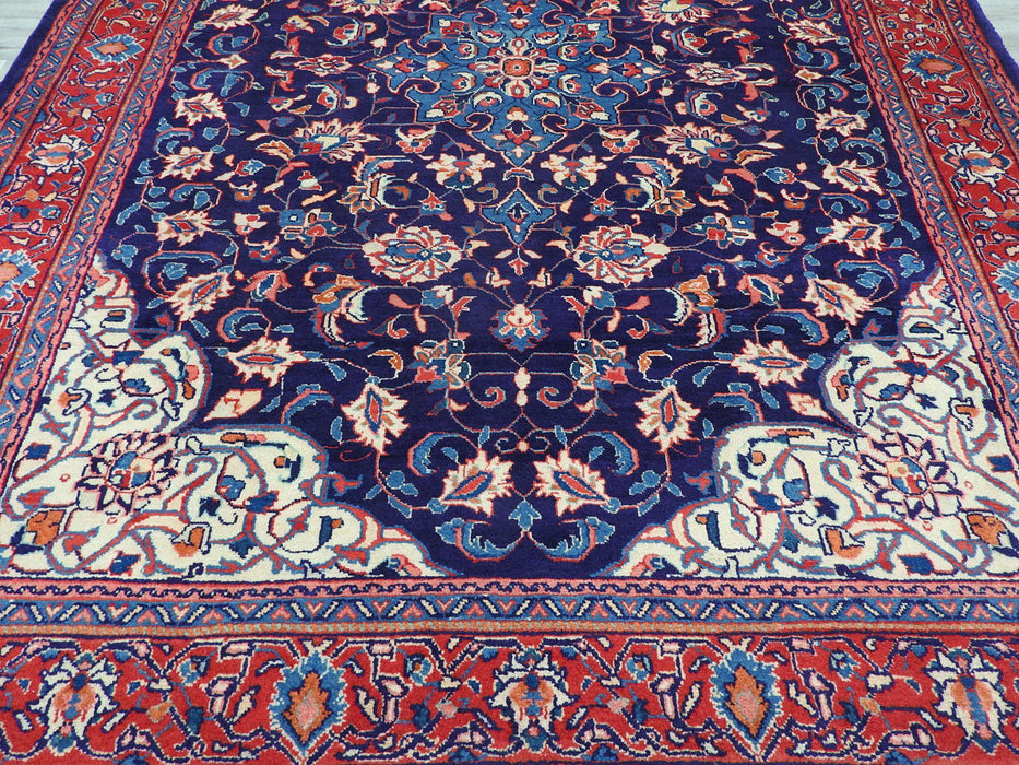Persian Hand Knotted Sarouk Rug Size: 310 x 225cm-Persian Rug-Rugs Direct