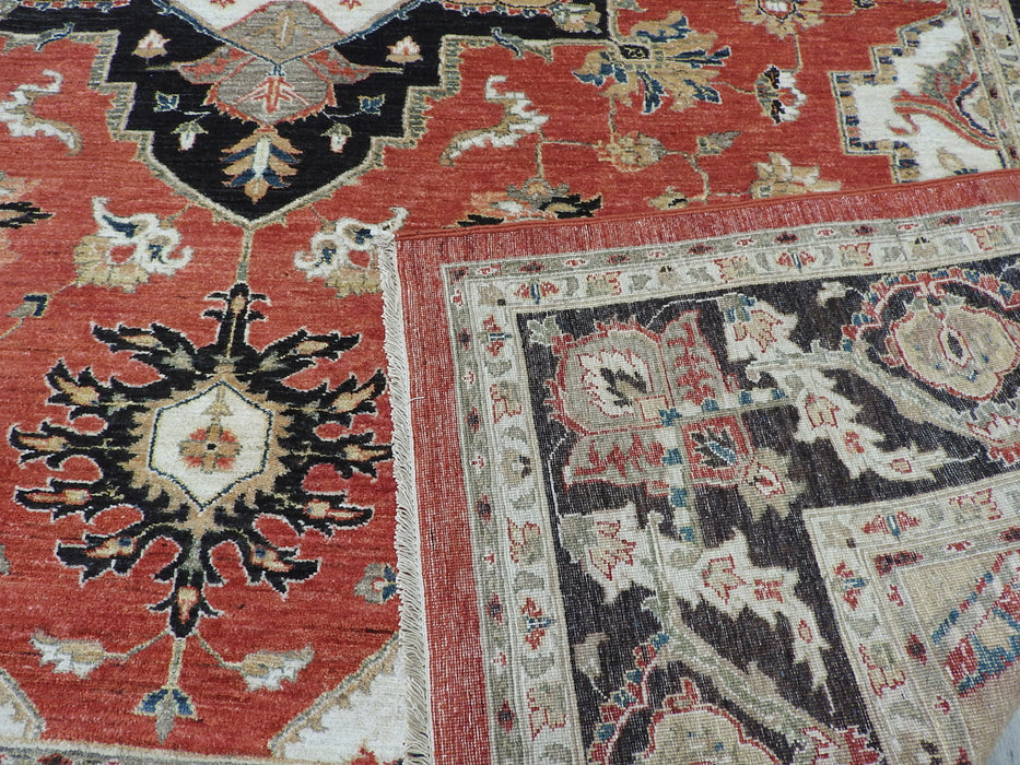 Afghan Hand Knotted Choubi Rug Size: 275 x 360cm