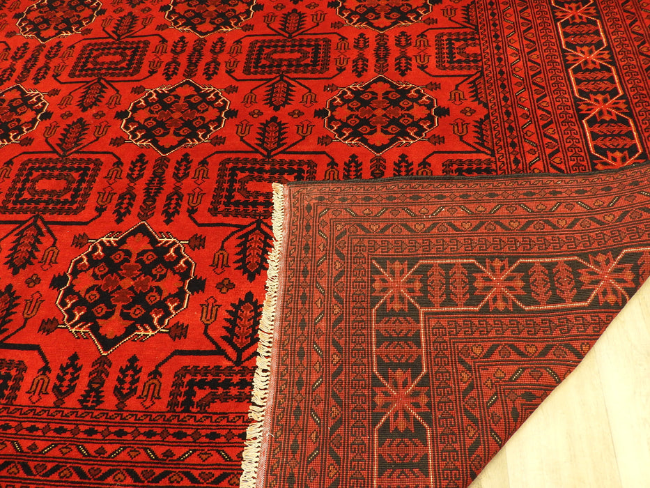 Afghan Hand Knotted Khal Mohammadi Rug Size: 296 x 389cm
