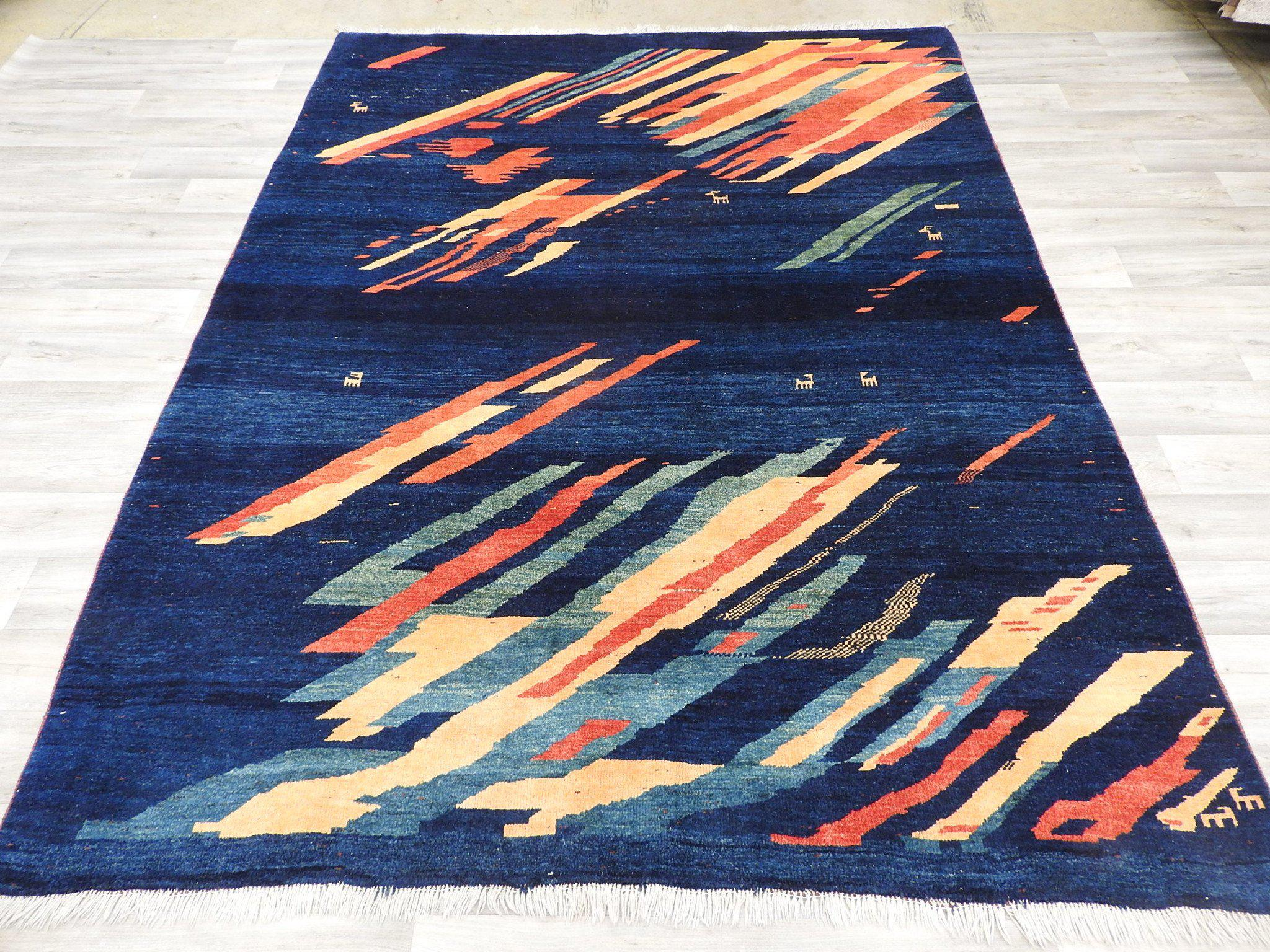Genuine Persian Hand Knotted Gabbeh Rug Size: 285 x 215cm