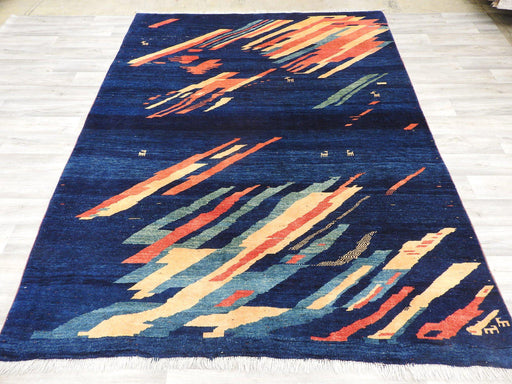 Genuine Persian Hand Knotted Gabbeh Rug Size: 285 x 215cm-Persian Rug-Rugs Direct