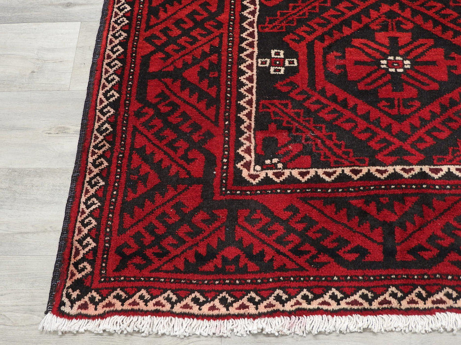 Persian Hand Knotted Baluchi Rug Size: 310 x 155cm-Persian Rug-Rugs Direct