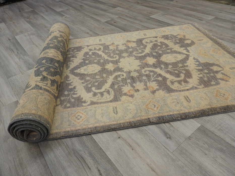 Afghan Hand Knotted Choubi Runner Size: 83 x 235cm-Hallway Runner-Rugs Direct