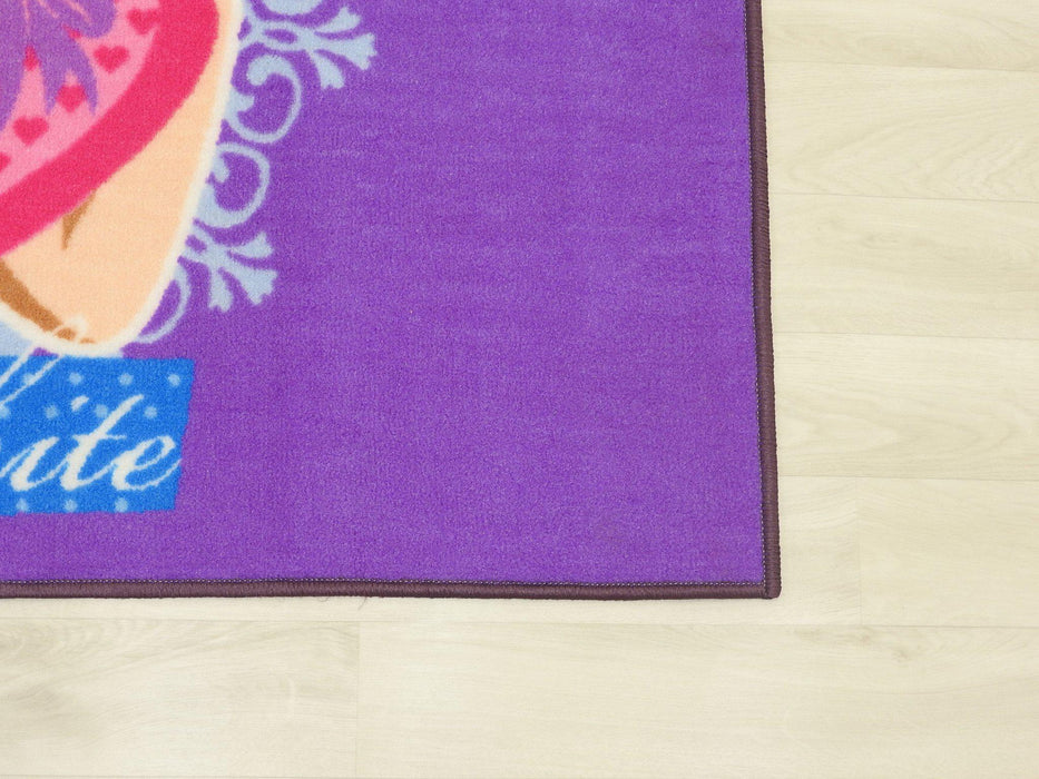 "Kids Mat ""Snow White"" Size: 100 x 150cm-Kids Rug-Rugs Direct"