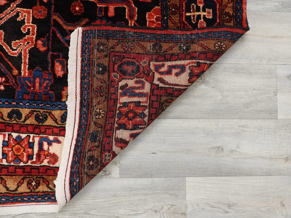 Persian Hand Knotted Nahavand Rug Size: 157 x 295cm-Persian Rug-Rugs Direct