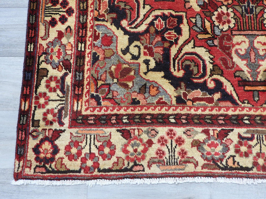 Persian Hand Made Borchelu Rug Size: 260cm x 150cm-Persian Rug-Rugs Direct