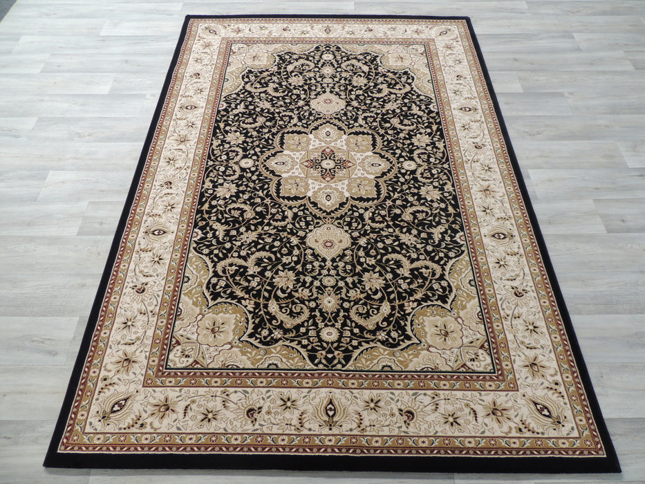 Persian Gold Medallion Top Quality Turkish Rug-Traditional Design-Rugs Direct