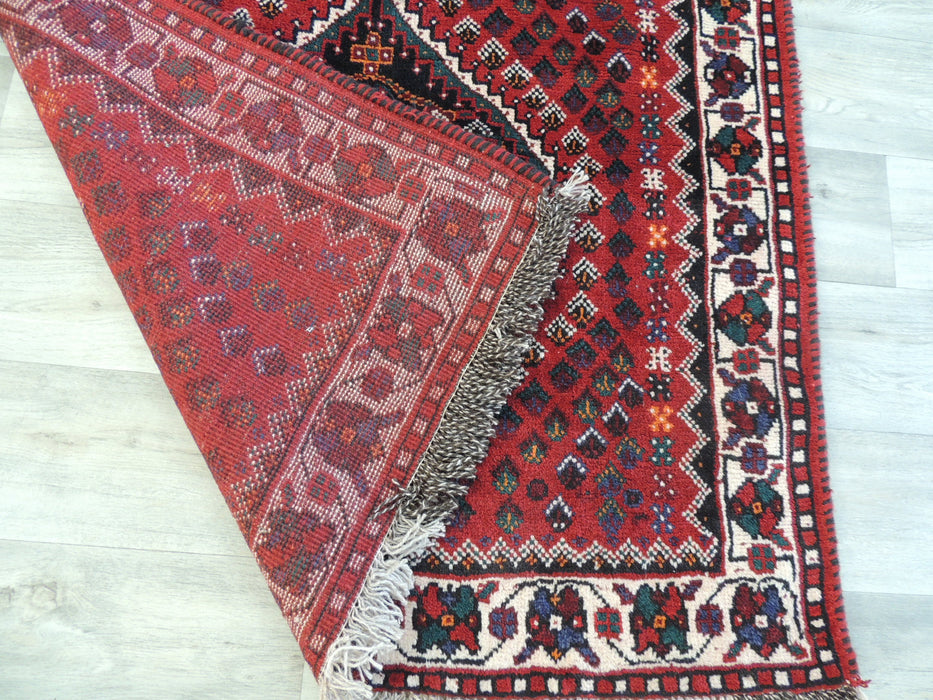 Persian Hand Knotted Shiraz Rug Size: 152 x 105cm-Unclassified-Rugs Direct